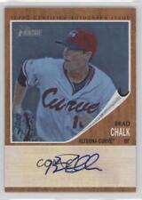 2011 Topps Heritage Minor League Edition #RA-BC Brad Chalk Altoona Curve Auto