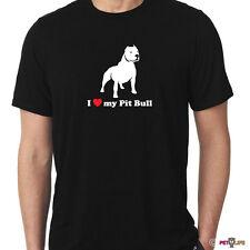 I Love My Pit Bull Tee Shirt alert v2