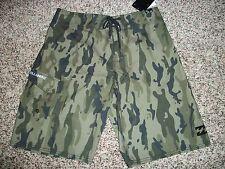 BILLABONG New NWT Mens BOARD SWIM SHORTS Camo Camouflage Green 31 32 33 34