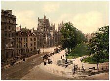 Bristol College Green photochrome print ca. 1890