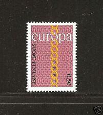 FINLAND # 504 MNH Europa 1971