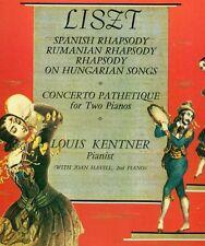 LISZT SPANISH & ROMANIA RAPSODIE RHAPSODY ON HUNGARIAN CANZONI KENTNER LP L7683