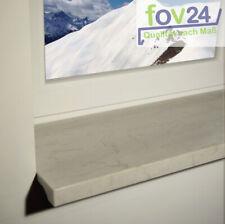 Werzalit  Innen Fensterbank Exclusiv Marmor Bianco - glatt inkl. Zuschnitt