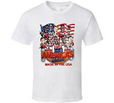 Usa Dream Team 1992 Basketball Caricature T Shirt - White