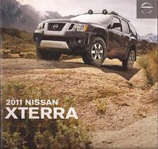 2011 11 Nissan  Xterra original sales brochure Mint