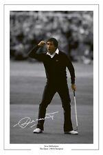 Seve Ballesteros'84 abierto Autógrafo Foto firmada impresión