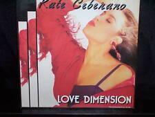 "KATE CEBERANO LOVE DIMENSION - AUSTRALIAN 7"" 45 VINYL RECORD P/S"