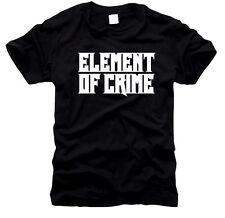 Element of Crime-UOMO-T-SHIRT, tg S a XXXL