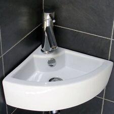 Esquina De Cerámica guardarropas Cuenca Moderno Pared colgado lavabo Baño de lavado a mano