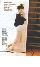 PUBLICITE 1998  JEAN PAUL GAULTIER le blouson sport, oui mais trés couture....