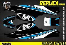 Kit Déco pour / Decal Kit for Jet SkiYamaha Super Jet - Blue