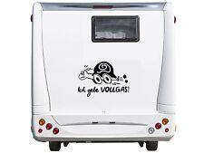 WD Autoaufkleber ICH GEBE VOLLGAS ! Wohnmobil Wohnwagen Camper Caravan Sticker