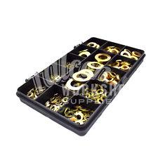 385 pièces zinc jaune M3 M4 M5 M6 M8 M10 M12 from a rondelles rondelle plate kit