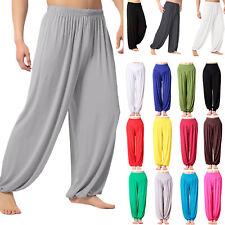 e40a9ff68ccf2a Mens Womens Unisex Casual Baggy Harem Trousers Aladdin Pants Yoga Dance  Workout