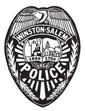 Winston Salem Police Sticker Decal R4859 Police Department