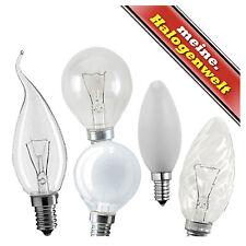 1x E14 E27 Kerzenlampe Tropfen-Lampe Windstoß-Kerze Glühbirne Klar Matt gedreht