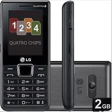 Original LG A395 with Quad-SIM 2G GSM 850 / 900 / 1800 / 1900 Unlocked Cellphone