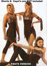 Far Away Dance Costume 6X7 Tunic and Child Medium Long Tap Pants New