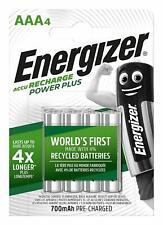 Piles AAA ENERGIZER rechargeables accu Power Plus HR03 700 mAh PRIX DEGRESSIF