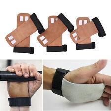 1 pair Grips crossfit gymnastics hand grip guard palm protectors glove Br_sh