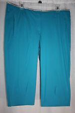 Nike Golf turquoise Capri Pants Dri Fit Stay Cool performance women's new $110