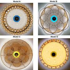 50CM LED Bluetooth Speaker Flush Ceiling Light Chandelier + Multiple Colours