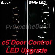 1997-2004 c5 Corvette Door Control/Switch LEDs  (Red White or Blue) SUPER BRIGHT