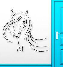 Wall Sticker Vinyl Decal Beautiful Horse Animal Abstract Room Decor (ig2178)