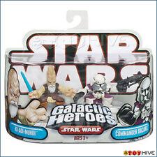 Star Wars Galactic Heroes Jedi Ki-Adi Mundi and Commander Bacarra sealed pack