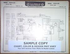1959 Austin Series A-40 Models AEA Wiring Diagram Chart