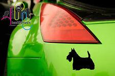 A 1472 - Scottish Terrier Hund Hundeaufkleber Aufkleber Autoaufkleber Sticker