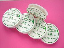 0.4, 0.5, 0.7, or 1mm Spool CRYSTAL ELASTIC THREAD / CORD *Buy One Get One @ 50%