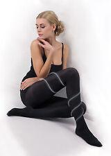 Beige Clair Noir Plus Taille Femmes Relaxant Collants empêche varices Cellulit T29