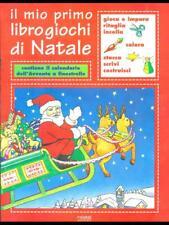 IL MIO PRIMO LIBRO GIOCHI DI NATALE  AA.VV. PIEMME JUNIOR 1999