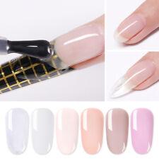 LILYCUTE Quick Extension UV Gel Polish Nail Art Semi-transparent Manicure Design