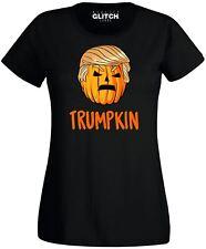 Halloween Trumpkin Women's T-shirt -  Inspired By Donald Trump Pumpkin