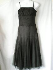 NEW MONSOON Ladies Chocolate Brown Prom Party Wedding Dress UK 10