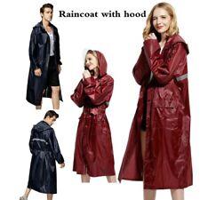 Unisex Adult Raincoat Adult Rain Coat Outdoor Waterproof Poncho Long Sleeve Coat
