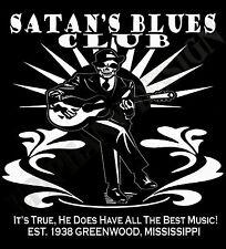 Satan's Blues Bar Delta Robert Johnson Original Design Delta Blues T-Shirt men's