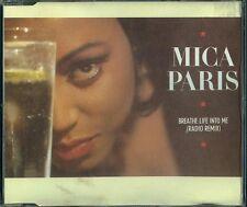 Mica PARIS CD-Maxi Breathe life into me (extended remix) (C) 1988
