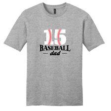 Custom Baseball Dad T-Shirt - Men's Personalized Sport Shirts