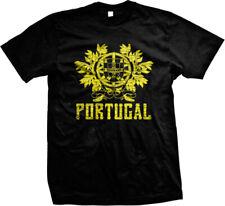 Coat of Arms of Portugal Portuguese Portuguesa Pride Pertuesa Mens T-shirt