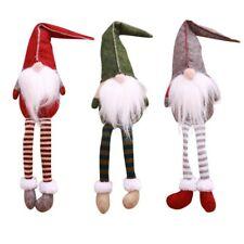 New Christmas Cute Sitting Long-legged Elf Festival New Year Dinner Party Home C