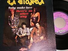 "7"" - La Bionda / Baby make Love - VG++ French 1978"