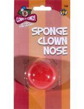 Costume Unisex Clown Del Circo Rosso Naso Spongebob naso nuovo da Smiffys