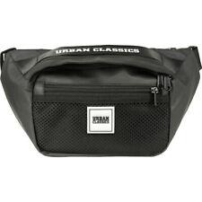 Urban Classics Coated Shoulder Bag Premium Gürteltasche Patch Hipbag black/white