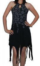 Zipy Elf Dress Psy Hippie Goa Fairy black