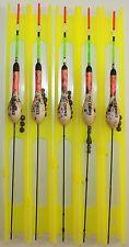 Posenmontage Set Angelposen Systeme auf Wickelbrettchen 8m Angelzubehör Posen