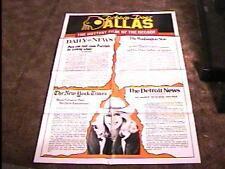 "DEBBIE DOES DALLAS ""B"" MOVIE POSTER 1978 CLASSIC"
