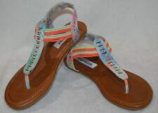 6b518cdb059 Steve Madden Multi-Color Sandals for Girls for sale   eBay